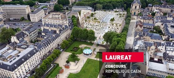 Lauréat concours république à Caen