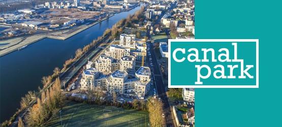Le chantier de la résidence Canal Park avance !
