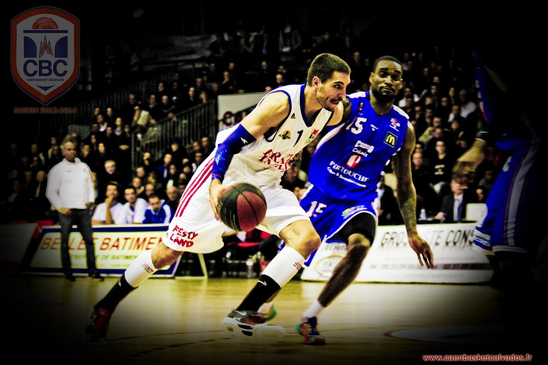 partenariat sportif avec le Caen Basket Club
